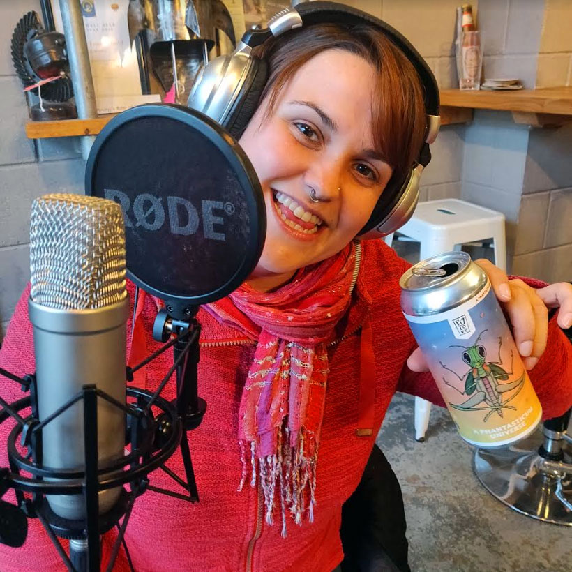 Beer n BS Show Host - Rachel