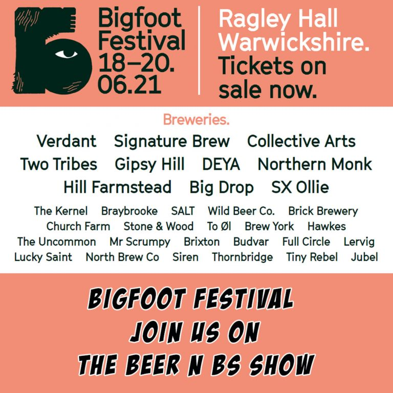 Bigfoot Festival tell us more about their forthcoming craft beer festival